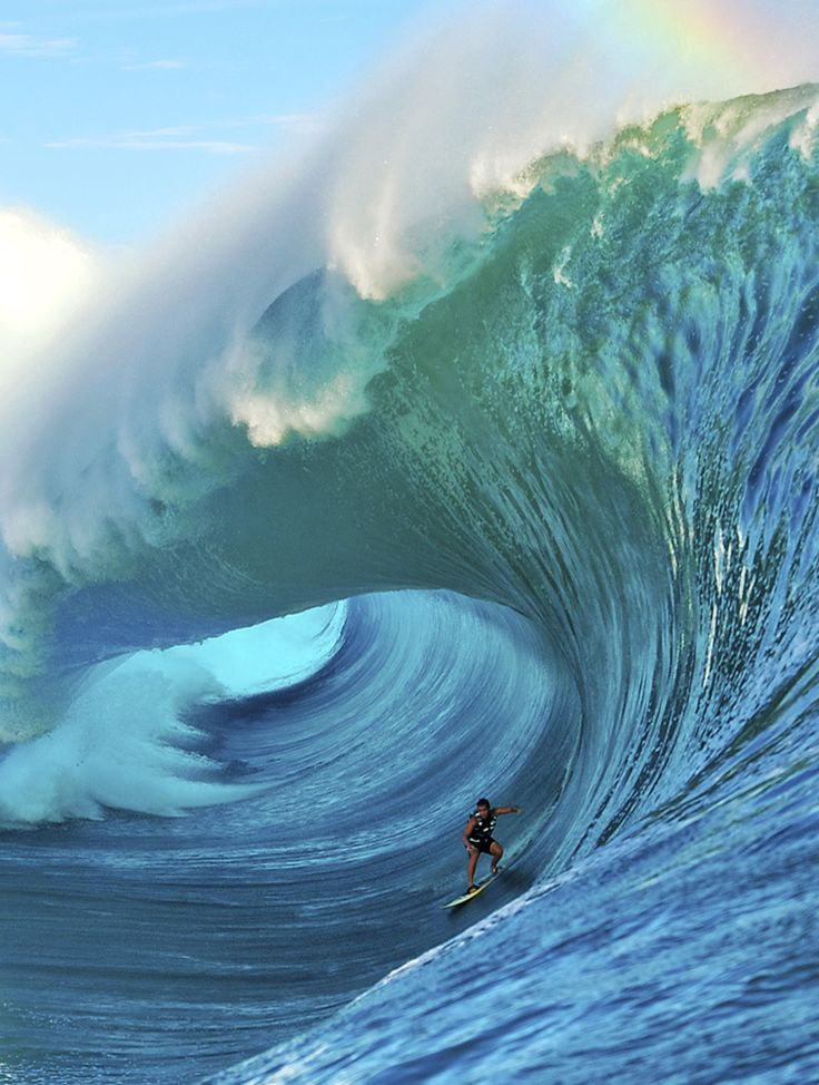 2014 #BigWaveAwards Tube Ride of the Year Koa Rothman. Photo: Tim McKenna