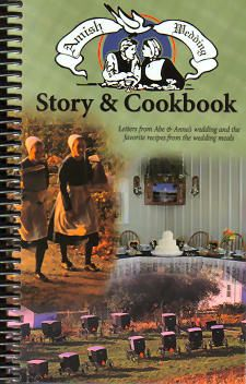 This is a wonderful book!  It's more than a cookbook;  It tells the story about an Amish wedding and the wedding couple, then the foods served at the wedding.  Othewr tidbits throught the book.