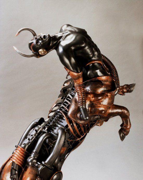 Esculturas em metal por Pierre Matter | Blog Tonka3D