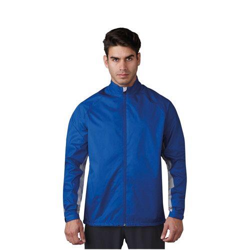 adidas Climastorm Provisional Men's Golf Rain Suit - Royal Blue/Black