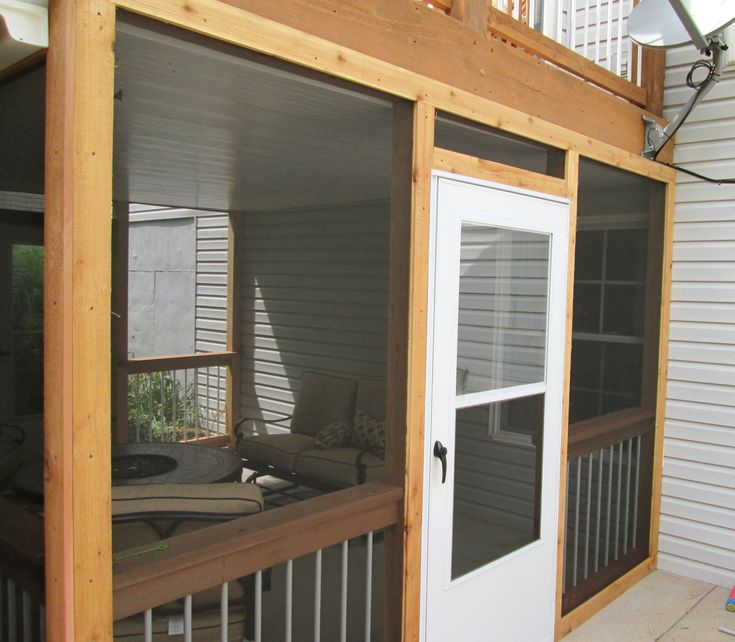 111 best deck ideas from archadeck st louis mo images on for Large screens for porches