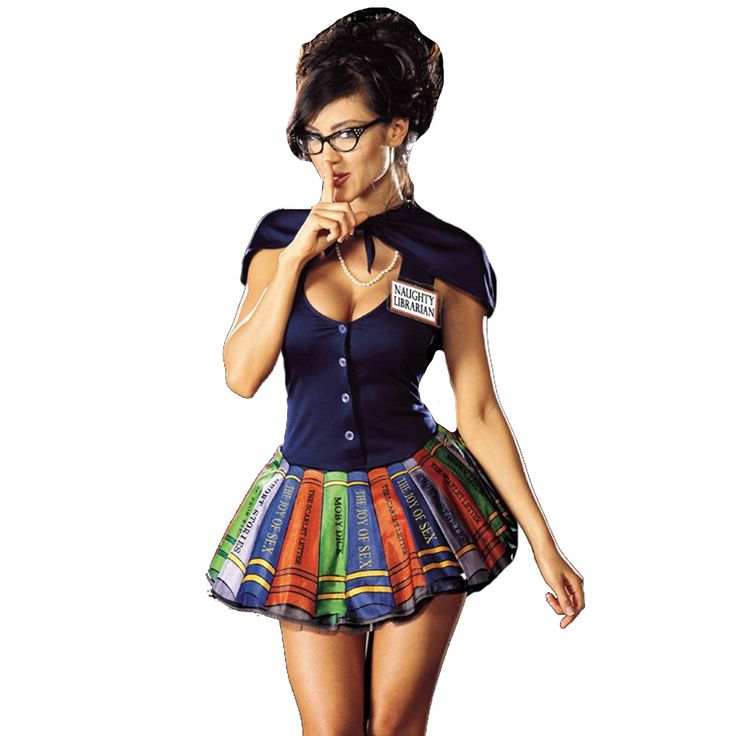 if youre a librarian like me you have a naughty side - Naughty Halloween