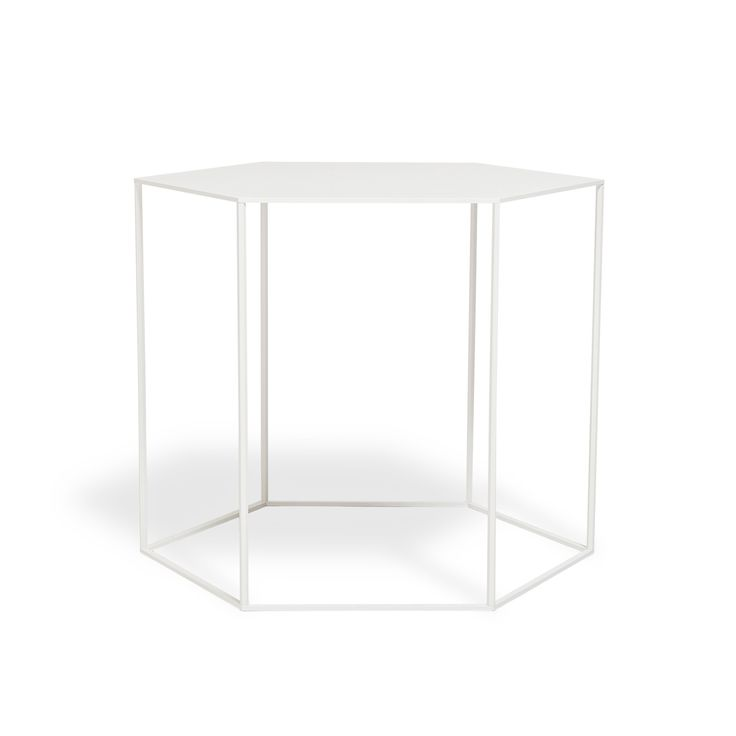 1363658 High Hexagonal Side Table  A 1.500×