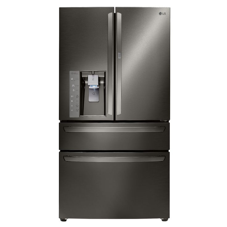 LG 29.7-cu ft 4-Door French Door Refrigerator with Single Ice Maker   $2798and Door within Door (Black Stainless) ENERGY STAR