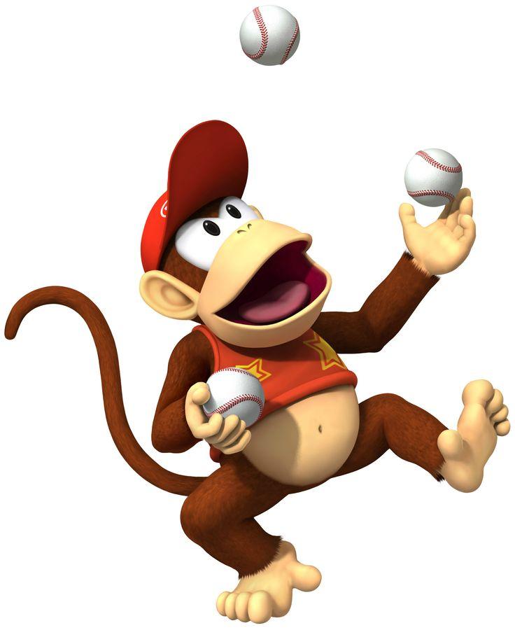 Diddy Kong - Mario Super Sluggers