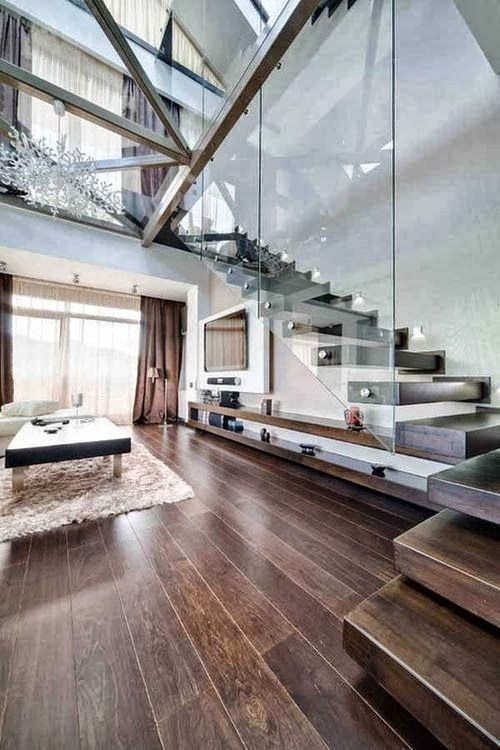 #glass and #naturallight open this space up completely