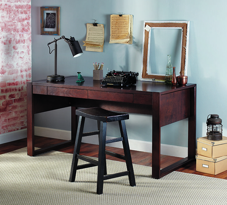 Realspace® Southport Parsons Desk: Keep Your #office Organized With This  Contemporary Desk!