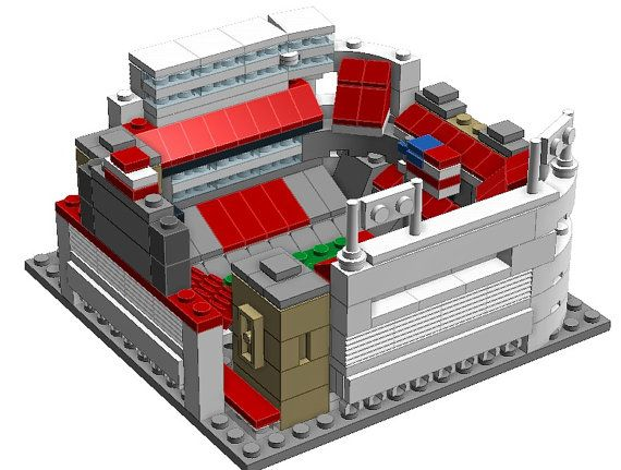 Mini Ohio State Ohio Stadium Custom LEGO by CustomBlockStadiums