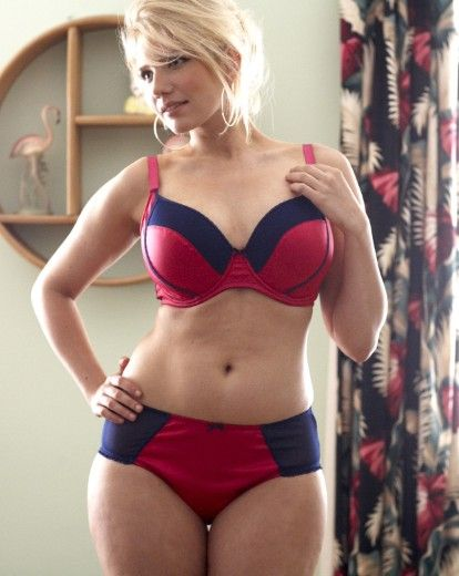Erika Elfwencrona  34DD bust, 31 inch waist, 41 inch hips  via Simply Yours Blog