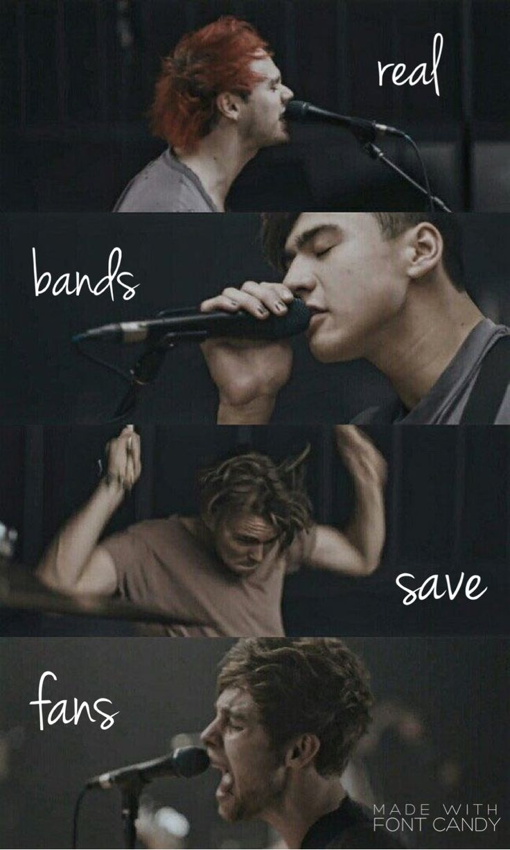 & real fans save bands // {credit: istanphan}