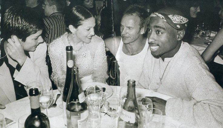 Tupac, Sting and Madonna