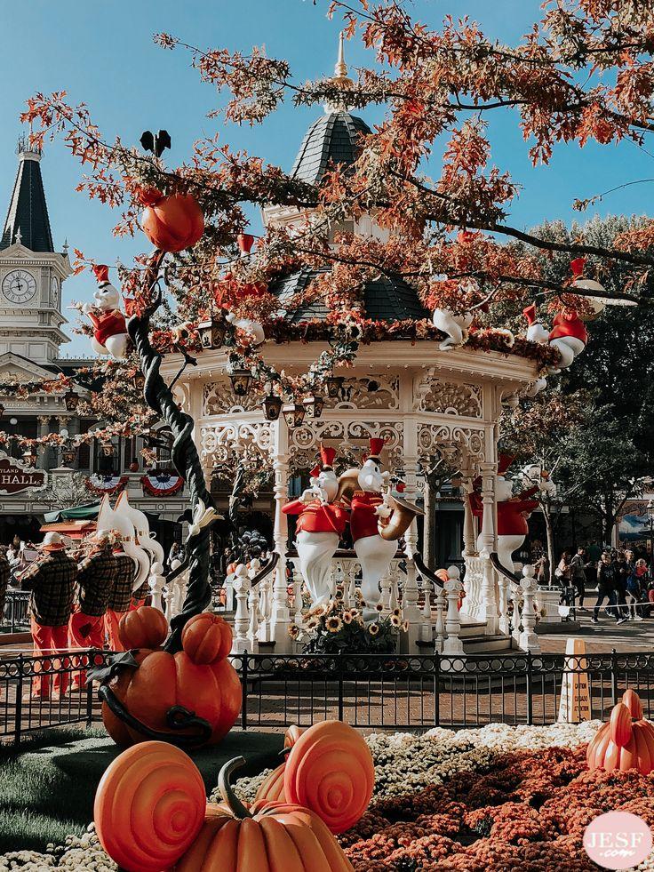 Halloween bei Disneyland ♥