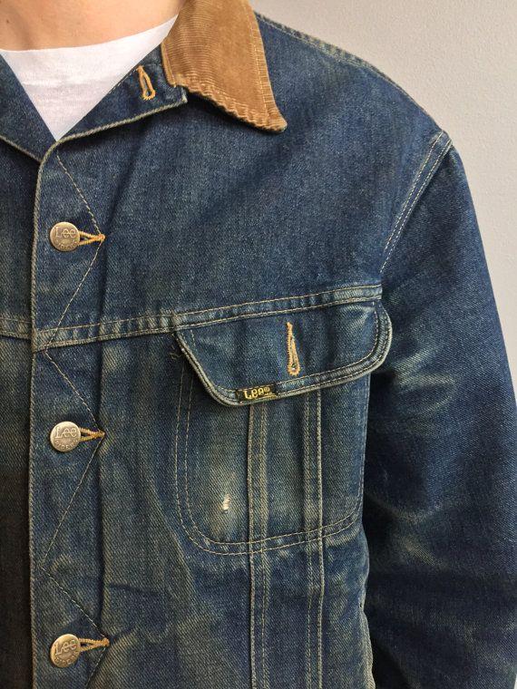 Giacca di jeans Lee Storm Rider con collo in di MidNorthMerc