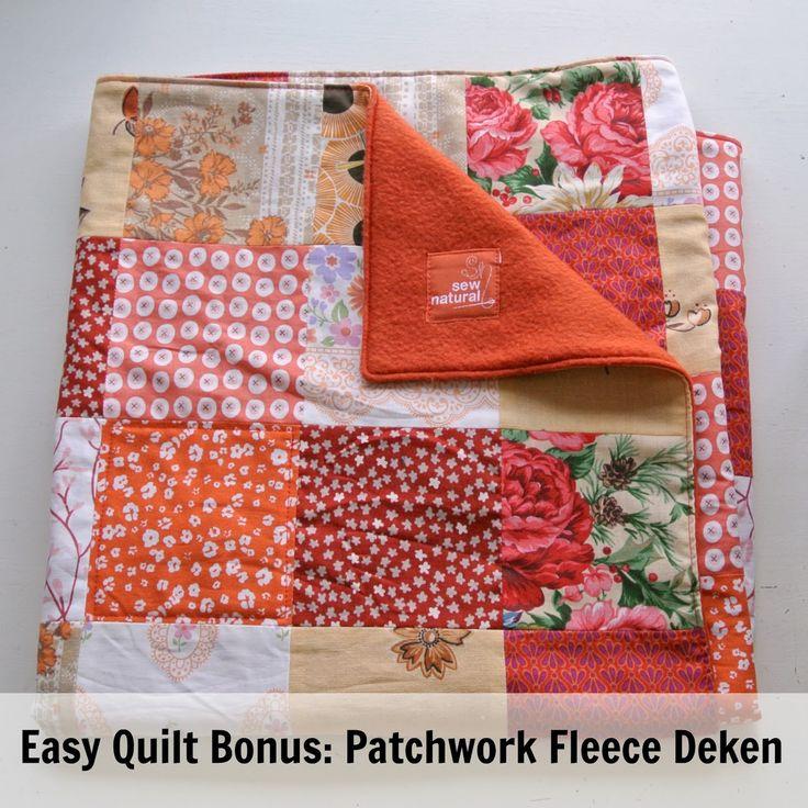 Hallo allemaal! Vandaag volgt er nog een Bonus Lesje van de Quilt SewAlong. Zoals beloofd laat ik zien hoe je een nóg makkelijker dekent...