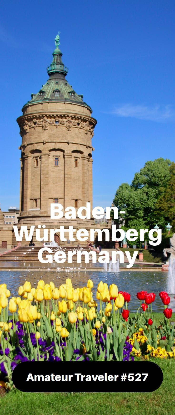Hear about a bike trip to Mannheim, Schwetzingen, Heidelberg and Karlsruhe in Baden-Württemberg: palaces and gardens, and inventions like the bicycle & car.
