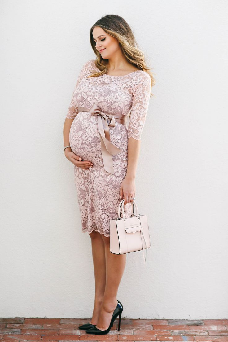 Best 25 lace maternity dresses ideas on pinterest maternity bumpstyle blush pink lace maternity dress ombrellifo Gallery