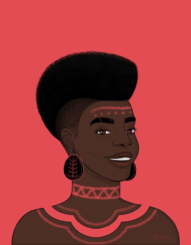 Black Women Art, Black Art, Trippy Wallpaper, Afro Art, Arte Pop, Body Painting, Female Art, Digital Illustration, Cool Pictures