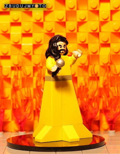 Meanwhile at Eurovision: Conchita Wurst