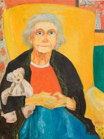 John Bellany Acclaimed Scottish Artist Nana 2003 Oil on Canvas 122x91_5cm