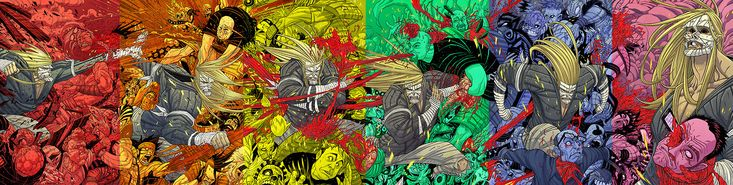 The Legend of Luther Strode #1-6: Phantom Variants (2012-2013) Drawn by Tradd Moore and colored by Felipe Sobreiro Luther Strode is written by Justin Jordan, drawn by Tradd Moore, colored Felipe...