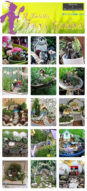 17 {Fantastic} Fairy Gardens   curated by 'House of Hawthornes' blog!