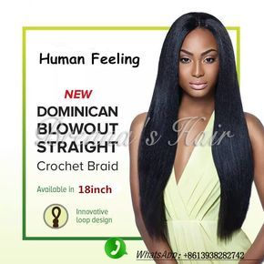 18'' Pre loop synthetic hair,pre braided crochet braids Human feeling Synthetic Braiding Hair Dominican Blowout Straight hair //Price: $US $5.49 & FREE Shipping //   http://humanhairemporium.com/products/18-pre-loop-synthetic-hairpre-braided-crochet-braids-human-feeling-synthetic-braiding-hair-dominican-blowout-straight-hair/  #braid_extensions
