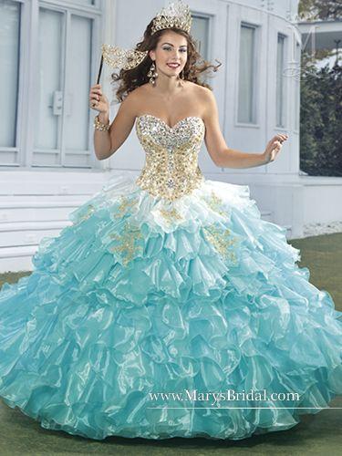 Vestidos para quinceañera estilo tradicional de Marys Bridal
