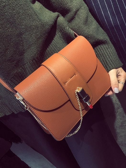 Leisure Buckle Up Fashion Shoulder Bags_shoulder bags_Wholesale Bags_ACCESSORIES_Wholesale clothing, Wholesale Clothes Online From China