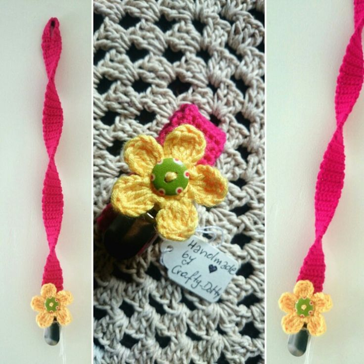 Dummy clips for babies @crafty_dotty