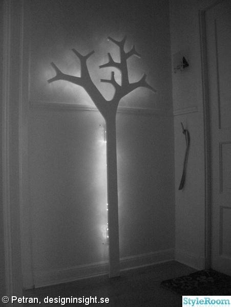Hall: klädhängare,träd,swedese