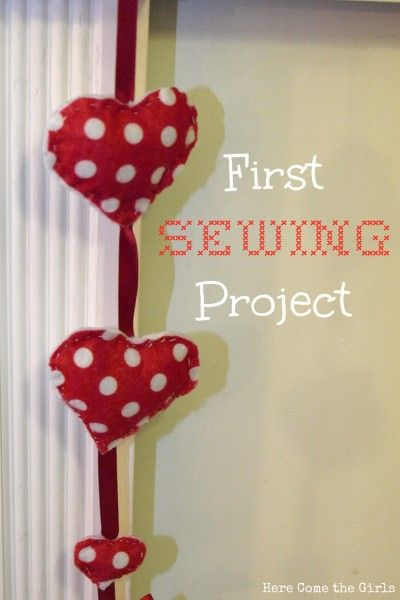 two easy first sewing projects