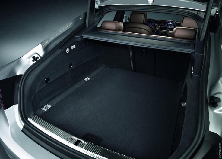 2011 Audi A7 Sportback, Trunk Space Crazy Good #efficient