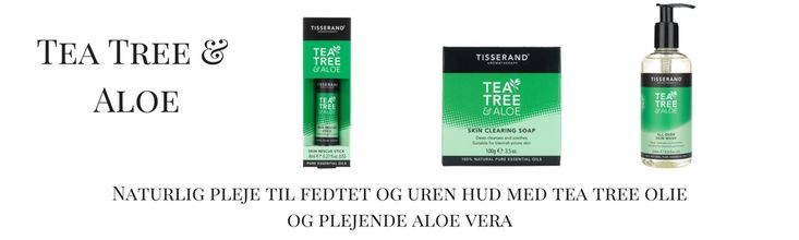 Tisserand Tea Tree & Aloe Skin Care