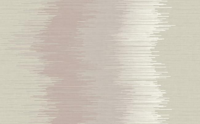 Waves and Stripes Wallpaper in Pink and Neutrals design by Seabrook Wallcoverings