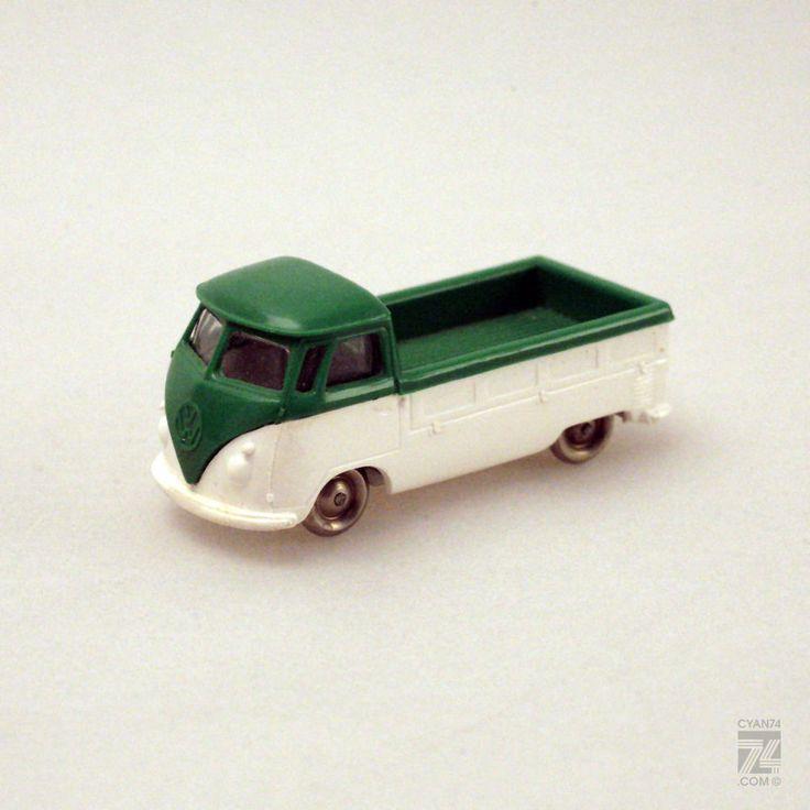 vintage lego 1 87 h0 vw bus van pick up pritsche. Black Bedroom Furniture Sets. Home Design Ideas
