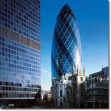 Swiss re Building - Londres - Norman Forster