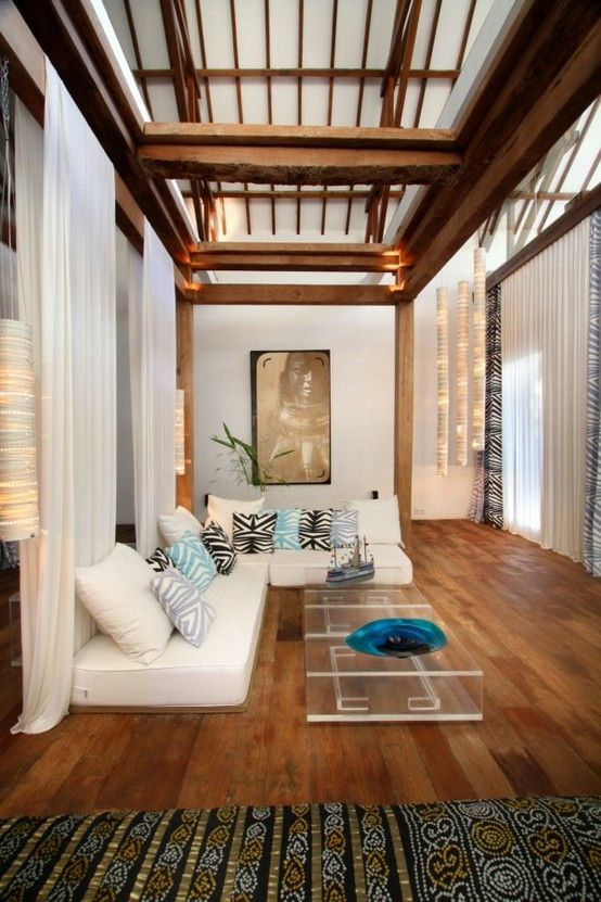 Architect Valentina Audrito's eclectic and imaginative home in Bali: Lalaland. #houses by sonia