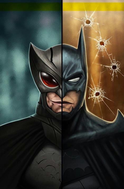 Batman/ Owlman | MARVEL AND DC HEROES | Pinterest Owlman