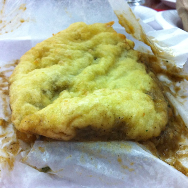 Doubles...Trinidad street food