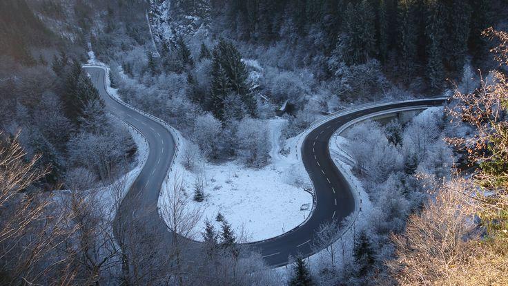 http://yi.io/18TwKjZ - Die Straße sieht aus als könnte es Spaß machen sie zu #fahren. Wir waren am #Nassfeld in #Hermagor. #666note