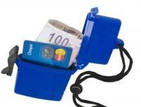 Plastic waterproof beach box - Cash and credit card holder