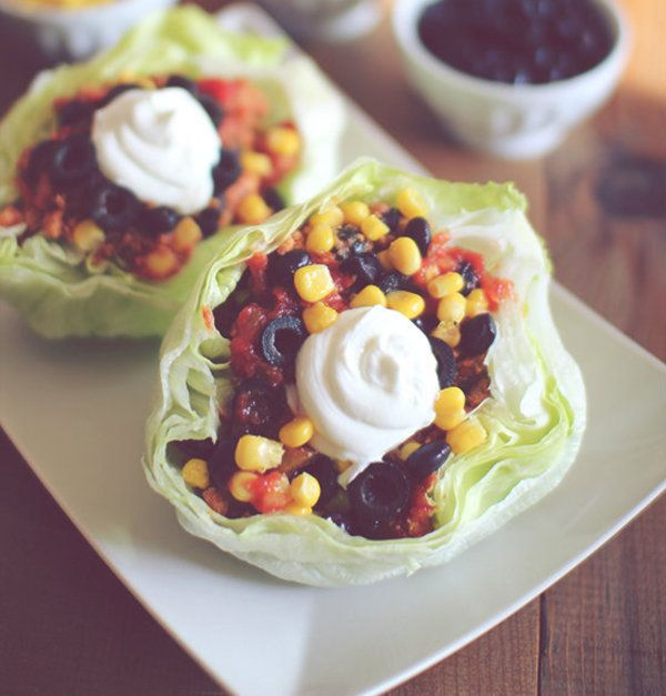 Calling all taco lovers! Try this Turkey Lettuce Wrap Tacos recipe from The Dashing Dish that will satisfy your cravings! [Get the recipe]