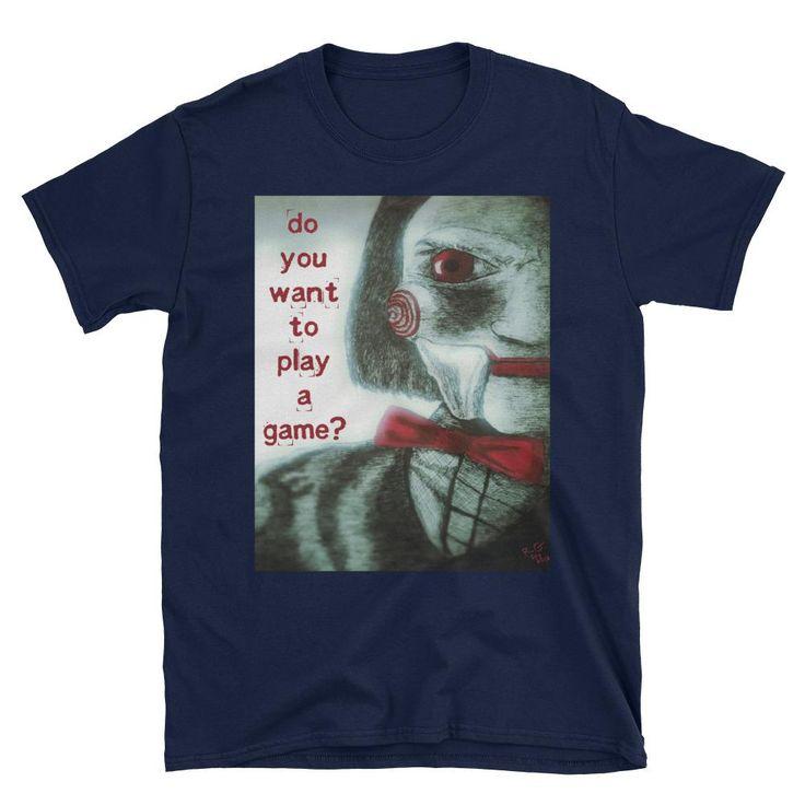 Saw Puppet Short-Sleeve Unisex T-Shirt