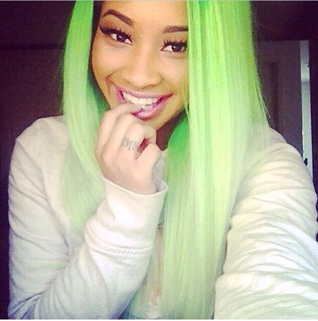 1021 best hair weave killa images on pinterest braids cute green hair pmusecretfo Image collections