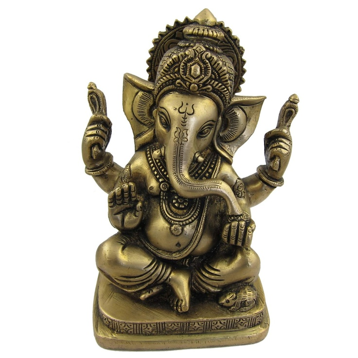 Statue Of Hindu Ganesh Indian Statues And Sculptures X X 6 Inches Home