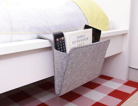 Felt Bedside Caddy | swissmiss | Bloglovin'