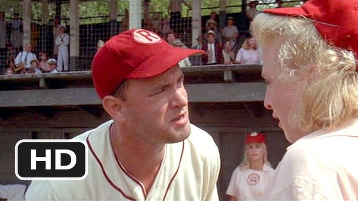 There's No Crying in Baseball - A League of Their Own (5/8) Movie CLIP (... I LOVED,LOVED,LOVED,LOVED this movie!! this is one of my favorite spots of it...
