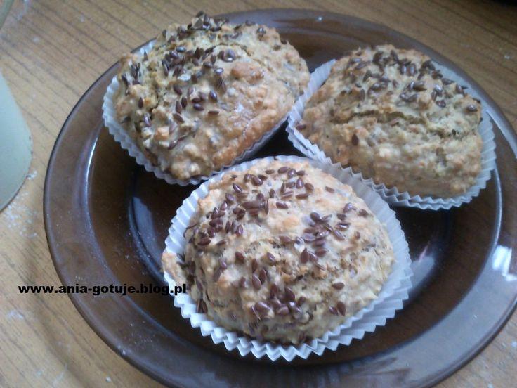 Sodowe bułeczki owsiane idealne na drugie śniadanie | ANIA-GOTUJE