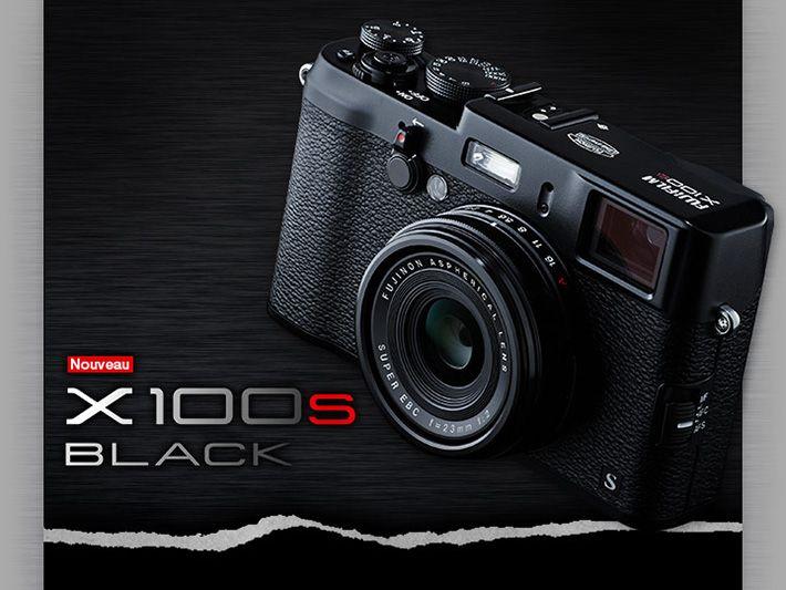 Fujifilm X100s Black, Version en noir intégral.  - Photo.fr