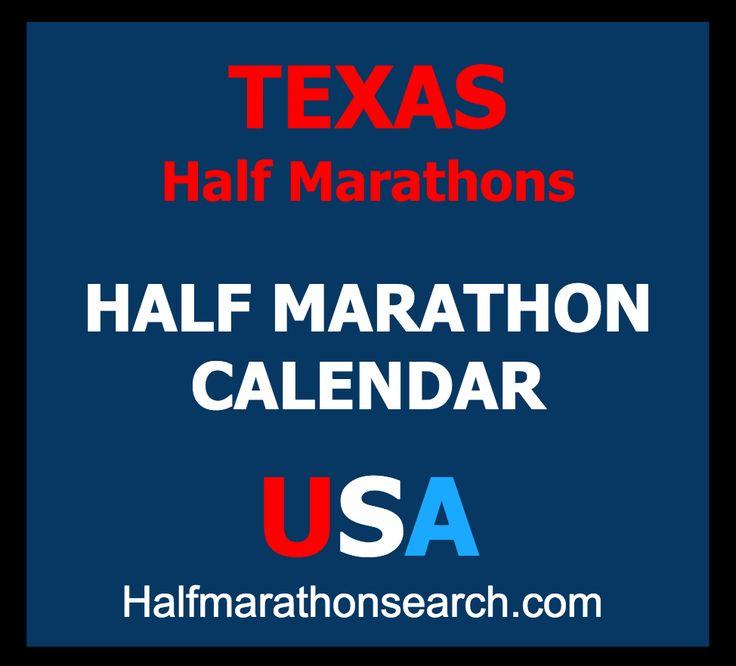 Texas Half Marathons  http://www.halfmarathonsearch.com/half-marathons-texas  Half Marathon Calendar USA - running, walking, jogging